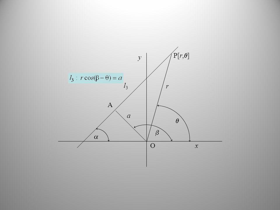  l3 r  P[r,] O y x  a A